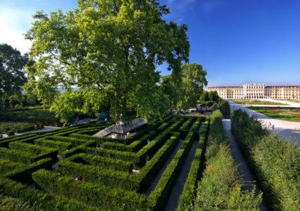Irrgarten © Schlosspark Schönbrunn Wien