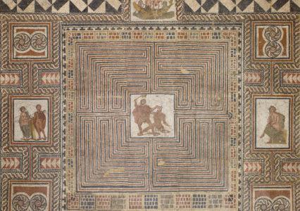Theseusmosaik © Kunsthistorisches Museum Wien