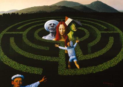Gemaelde_Rudolf-Hausner_1987-91_Labyrinth